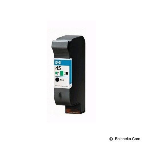 HP Black Ink Cartridge 45A [51645AA] - Tinta Printer HP